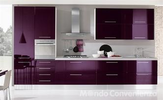 Cucine Moderne Color Melanzana.Cucina Sulle Ali Di Un Sogno